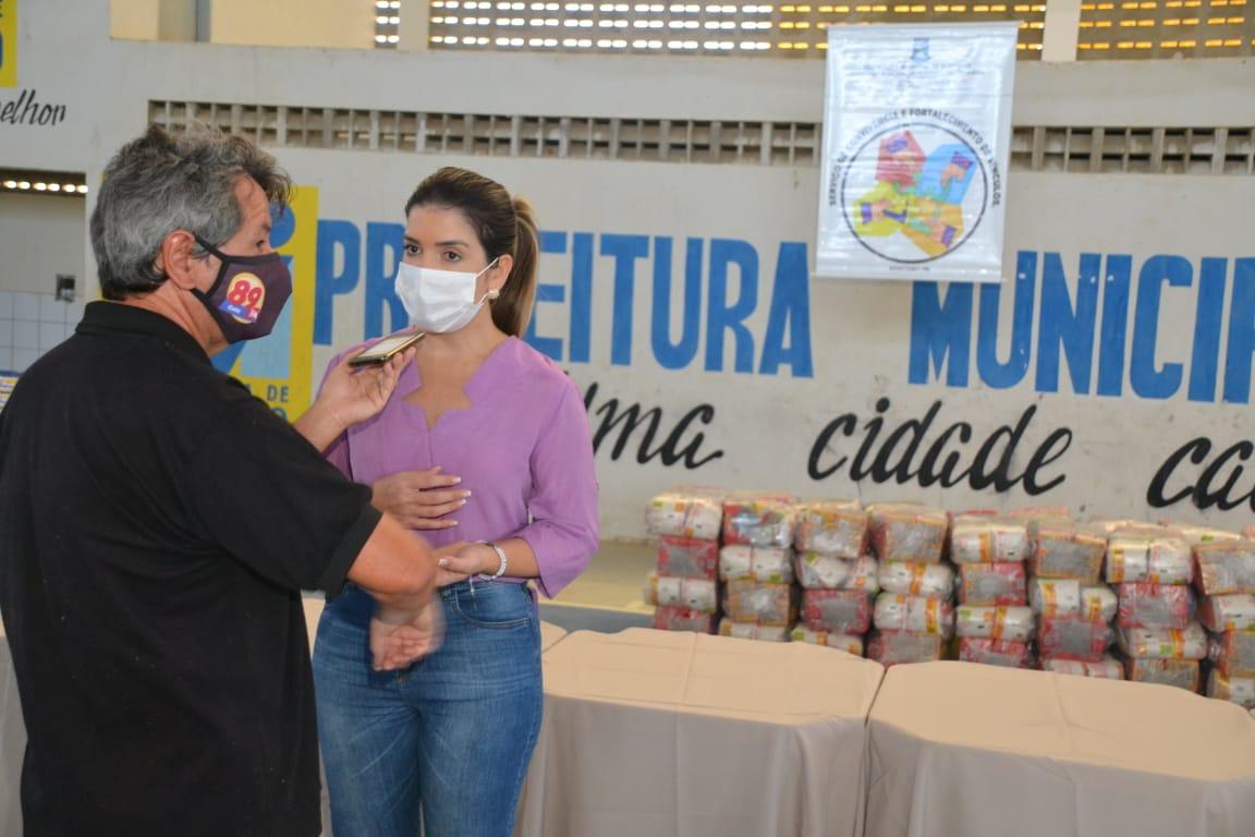 Cesta-Social-Agosto-7 Beneficiários do Programa Cesta Social agradecem e destacam o empenho e dedicação da Prefeita Anna Loren