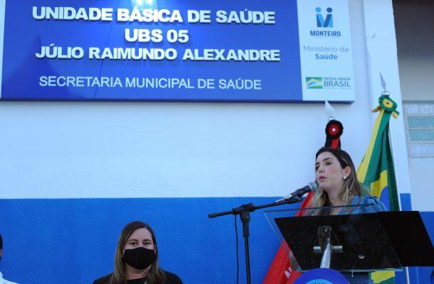 Entrega-PSF-05-10-610x400 Comunidade do Mulungu comemora entrega das obras do PSF 05 em Monteiro