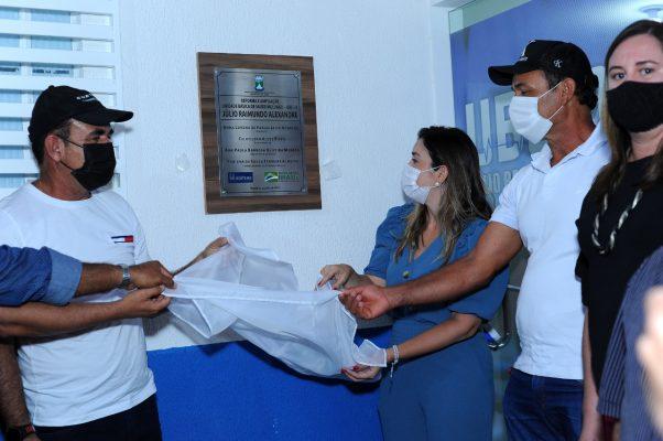 Entrega-PSF-05-2-602x400 Comunidade do Mulungu comemora entrega das obras do PSF 05 em Monteiro