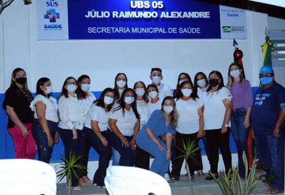 Entrega-PSF-05-3-585x400 Comunidade do Mulungu comemora entrega das obras do PSF 05 em Monteiro