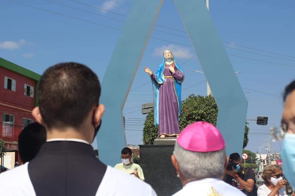 FB_IMG_1631782549024 Monteiro inaugura monumento em homenagem a Nossa Senhora das Dores