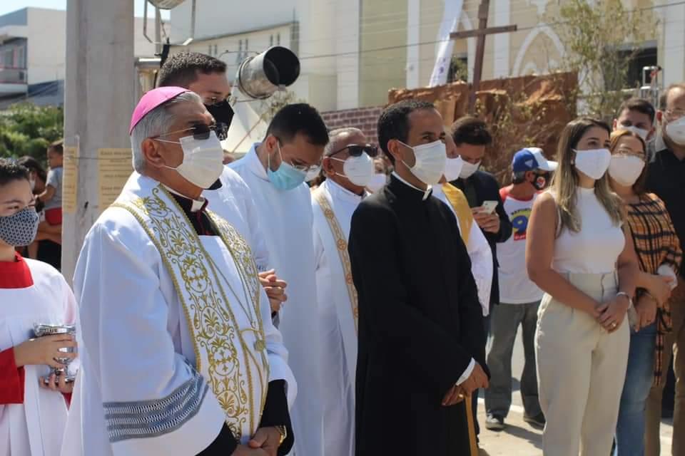 FB_IMG_1631782557816 Monteiro inaugura monumento em homenagem a Nossa Senhora das Dores
