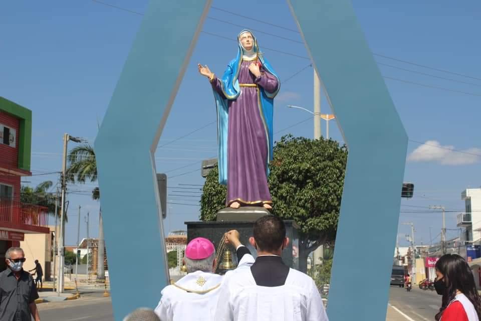 FB_IMG_1631782567983 Monteiro inaugura monumento em homenagem a Nossa Senhora das Dores