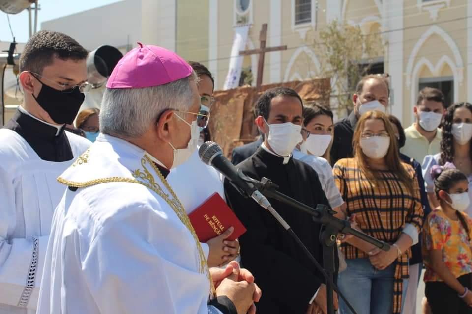 FB_IMG_1631782573377 Monteiro inaugura monumento em homenagem a Nossa Senhora das Dores