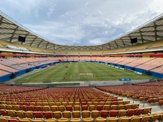 arena-535x400 Brasil x Uruguai pelas Eliminatórias, em outubro, será em Manaus