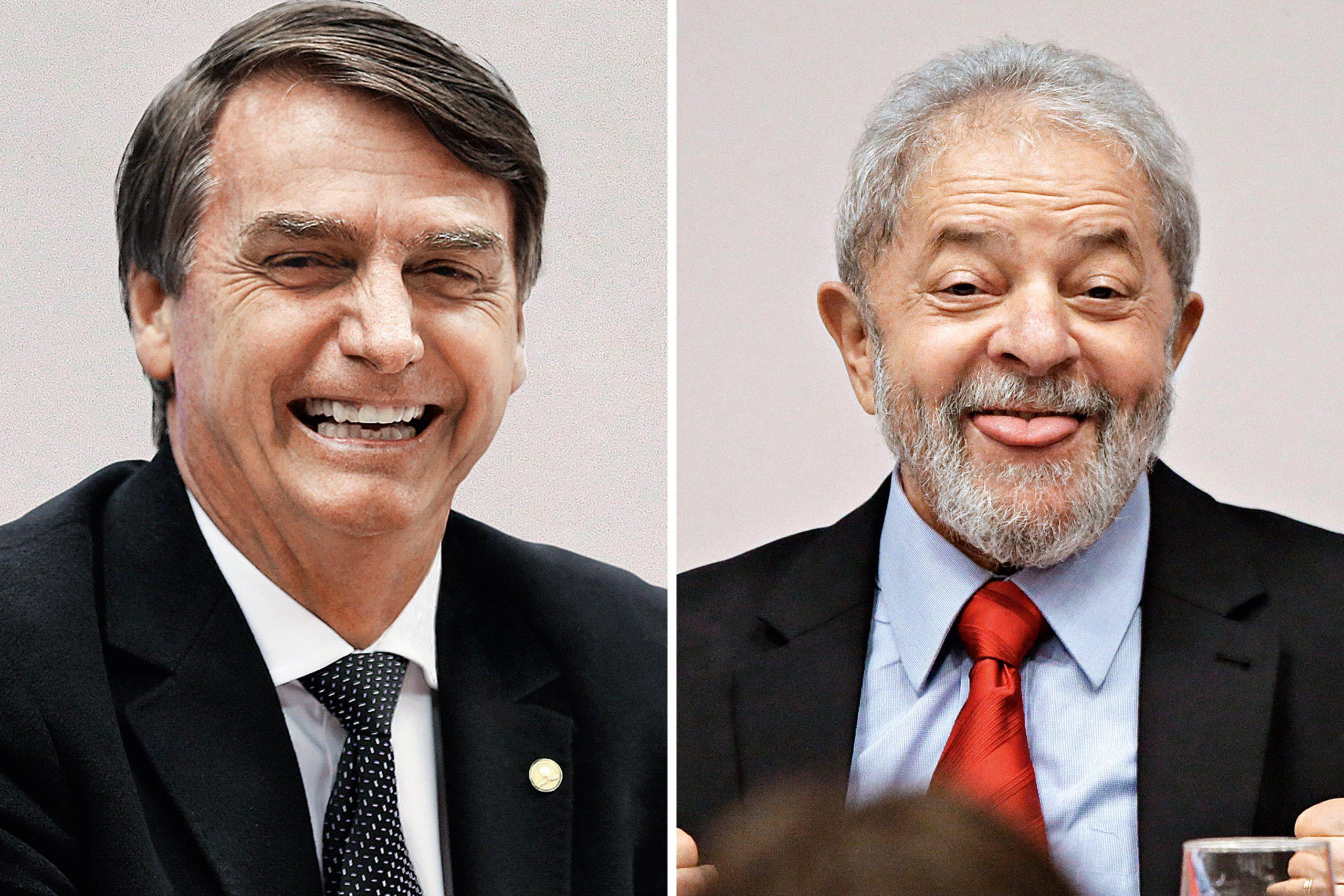 bolsonaro-e-lula-scaled Pesquisa Ipec: Lula lidera nos dois cenários, e corrida presidencial segue estável