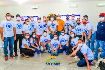 2.3 Secretaria de saúde de São João do Tigre realiza capacitação em Atendimento Pré-Hospitalar (APH) para profissionais do município