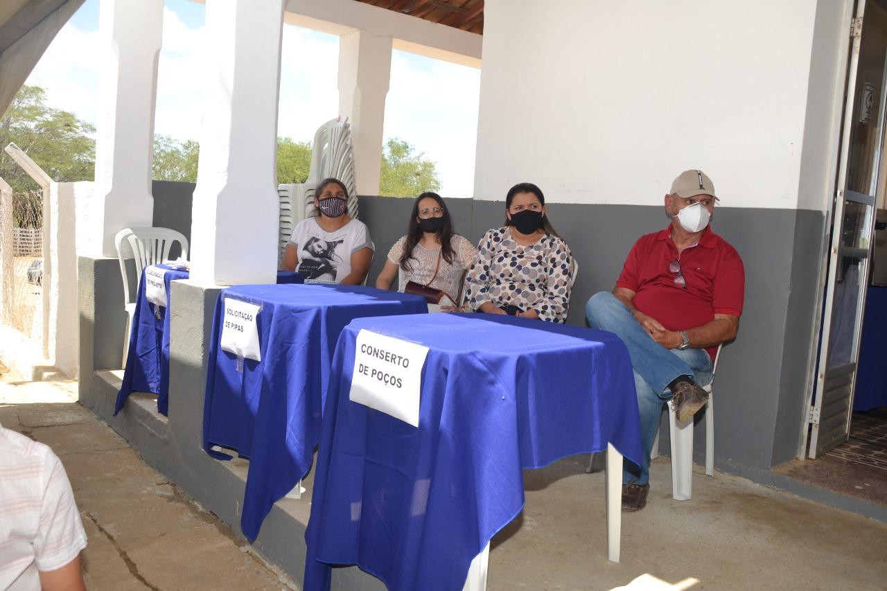 Agricultura_Proj MONTEIRO: Agricultura disponibiliza técnicos para elaboração de projetos para agricultores