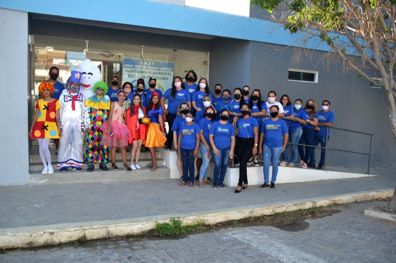 Dia-das-Criancas Secretaria de Desenvolvimento Social comemora Dia da Criança em Monteiro