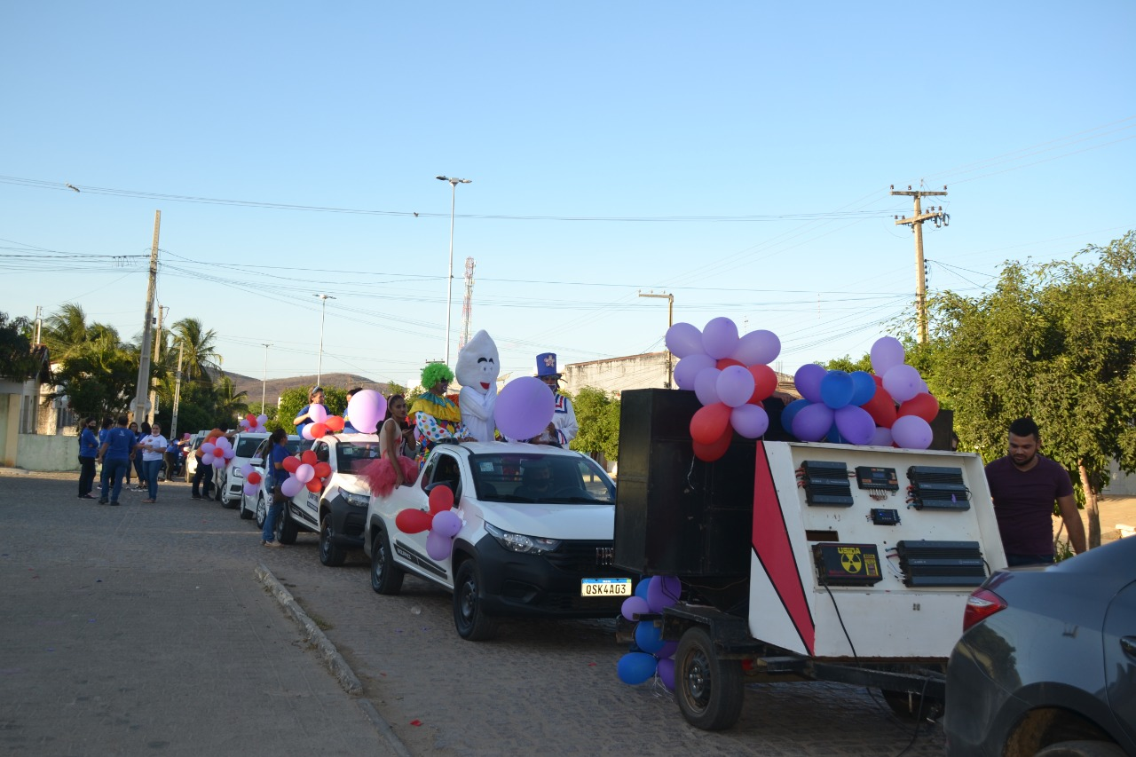 Dia-das-Criancas2 Secretaria de Desenvolvimento Social comemora Dia da Criança em Monteiro