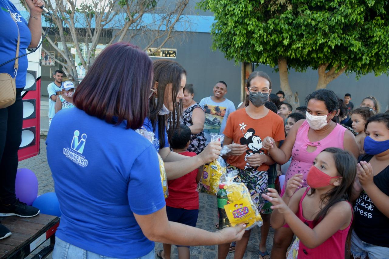 Dia-das-Criancas6 Secretaria de Desenvolvimento Social comemora Dia da Criança em Monteiro