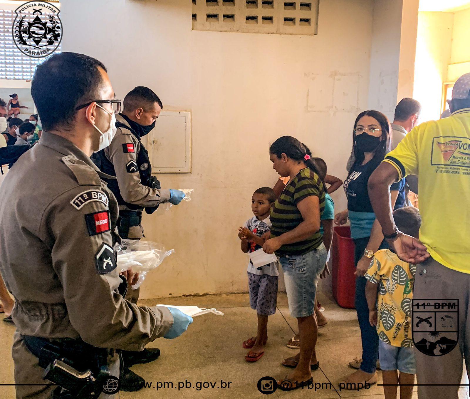 IMG-20211013-WA0374 Em Monteiro: 11º Batalhãode Polícia Militar,realiza operação criança feliz e entrega os brinquedos arrecadados