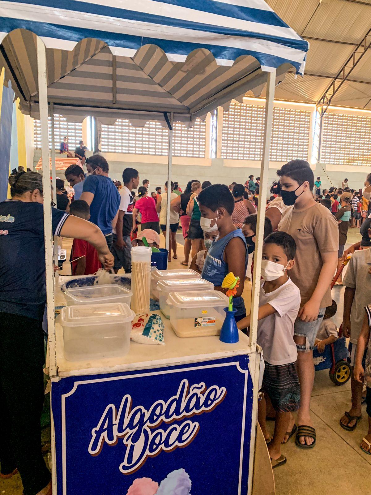 IMG-20211013-WA0379 Em Monteiro: 11º Batalhãode Polícia Militar,realiza operação criança feliz e entrega os brinquedos arrecadados